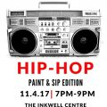 For The Love of Hip-Hop: Paint and Sip Edition