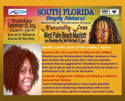 Simply Natural Hair Beauty and Wellness Expo 9.28.14